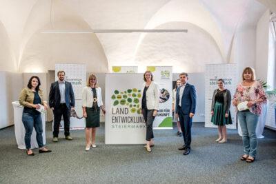 Pressekonferenz Landentwicklung Steiermark